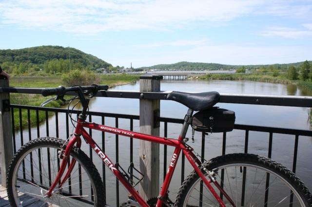 Bike Betsie Trail Bridge