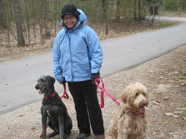 DH Day Mom and Dogs