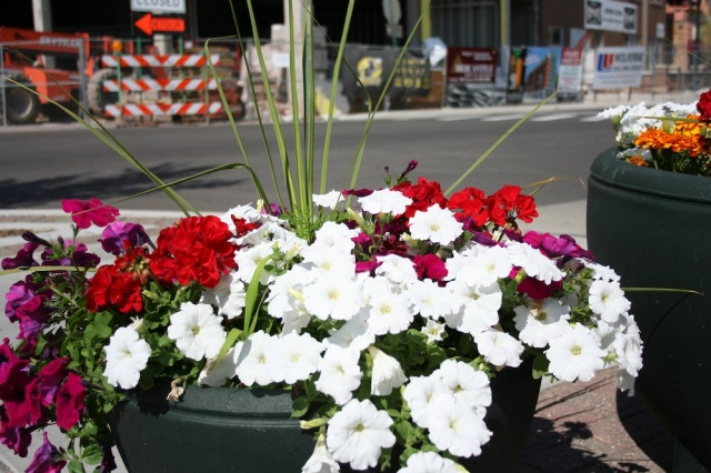Weekend City Flower Pots