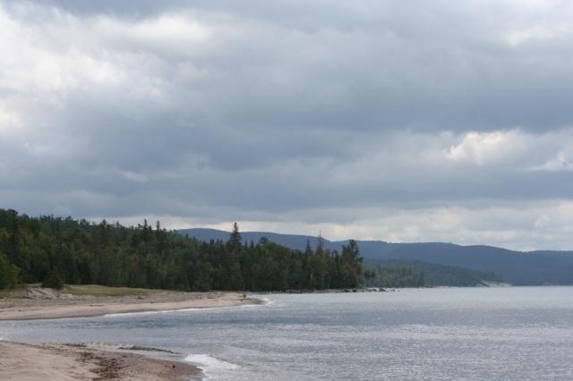 Perfect Canadian coastline.