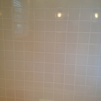 Check out that fresh grout!