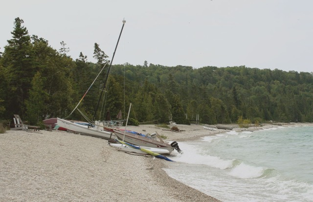 Boats on the Far Shore